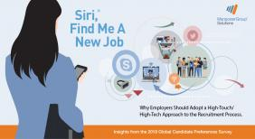 "ManpowerGroup Solutions Studie ""Siri, find me a new job."" 2018"